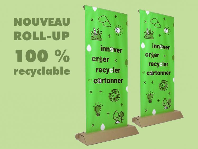 ROLL UP 100% RECYCLABLE